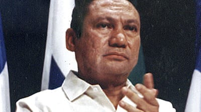 Noriega jailed on return to Panama