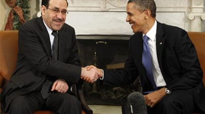 Iraqi PM in US to chart future relations