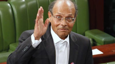 Former dissident becomes Tunisian president