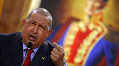 Chavez was first hospitalised in June 2011 while on a visit to Cuba [AP]