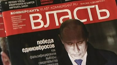 Journalists fired over anti-Putin slogans