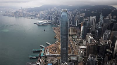 Hong Kong named world's top financial hub