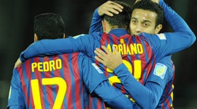 Barca ease into Club World Cup final
