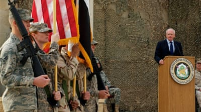 US forces mark end of Iraq mission