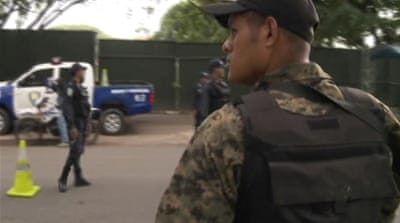 Honduras army takes on drug gangs