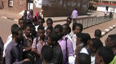 Students seek change in Sudan