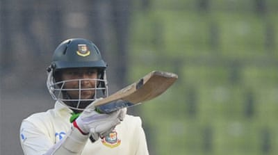 Batsmen boost spirits on day one