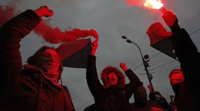 A Russian winter: Putin, protests, propaganda