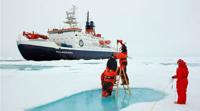 Melting Arctic brings new opportunities