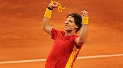 Spain take two-point lead in Davis Cup final