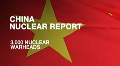 China's nuclear arsenal 'many times larger'