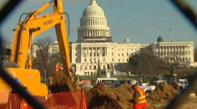 US congress mired in budget deadlock