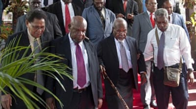 New twist in Papua New Guinea power struggle