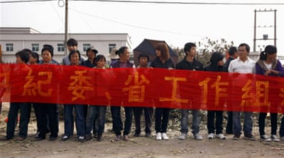 China agrees to talks with protest villagers