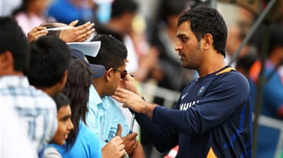 Dhoni leads the Indian charge