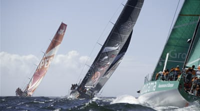 Volvo Ocean race enters 'stealth zone'