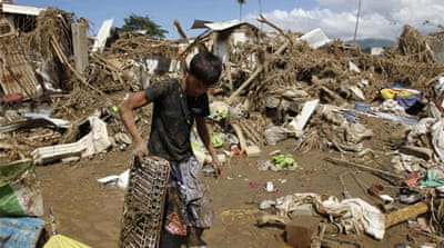 Number of missing soars in Philippines floods