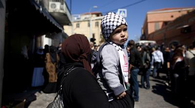 Palestinians in a 'Jewish state'