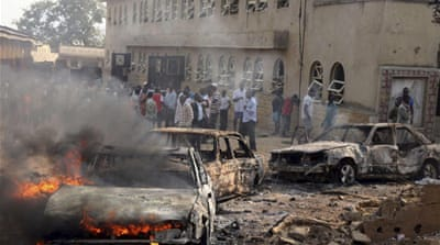 Nigeria churches hit by blasts