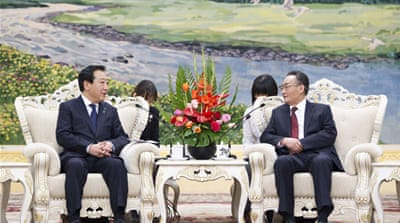North Korea dominates China-Japan talks