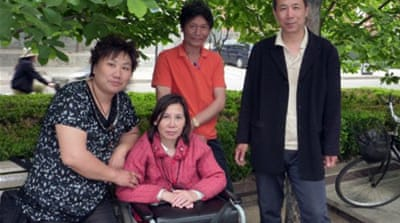 No verdict in trial of Chinese land activists
