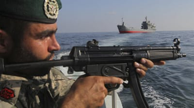 Iran held a 10-day drill last December and sent a submarine and a destroyer into the Gulf four months ago [Reuters]