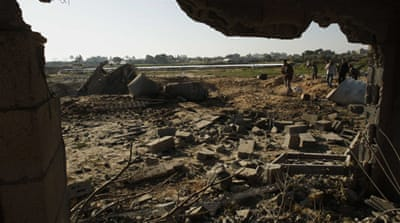 Israeli air strike kills Palestinian in Gaza