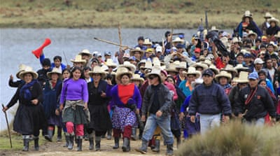 Peru declares emergency over disputed mine
