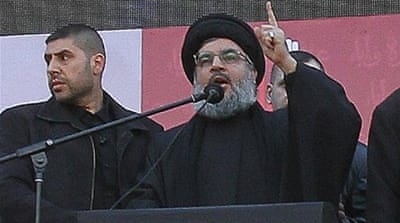 Hezbollah chief makes rare public appearance
