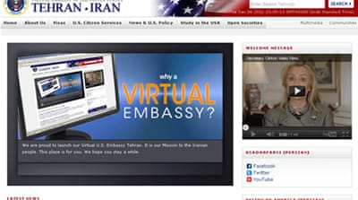 US launches virtual embassy for Iran