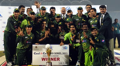 Pakistan tie up series win over Bangladesh