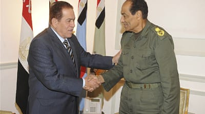 Egypt army decree expands PM's powers