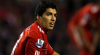 Luis Suarez back in trouble