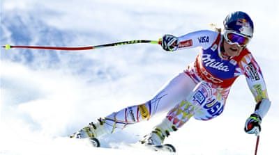 Lindsey Vonn claims fourth World Cup win