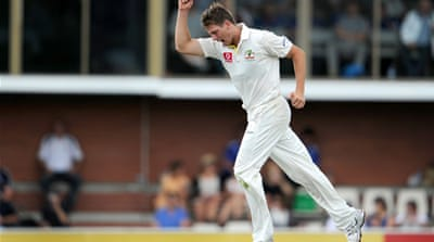 Pattinson continues to impress for Australia