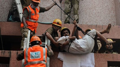 Scores killed in India hospital blaze