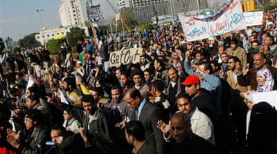 Egypt gears up for gigantic protest