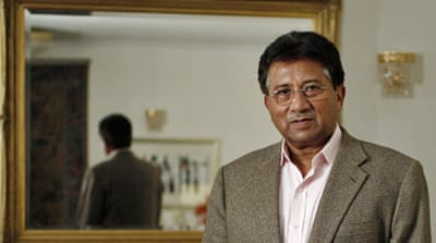 Arrest warrant issued for Musharraf