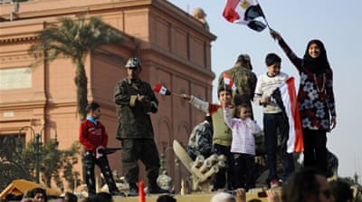 Egypt's army vows smooth transition