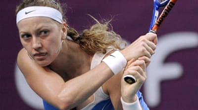 Kvitova stuns Clijsters in Paris