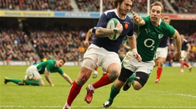 France edge out Ireland