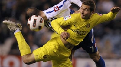 Villarreal lose at lowly Deportivo