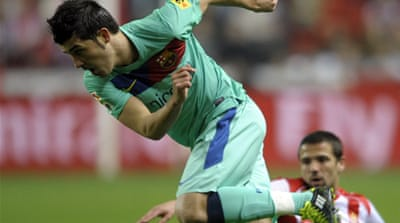 'Superior' Gijon end Barca run