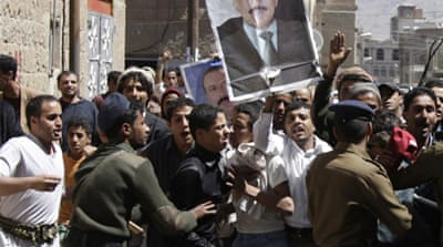 Yemenis protest amid crackdown