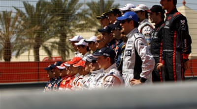 F1 wary over Bahrain Grand Prix