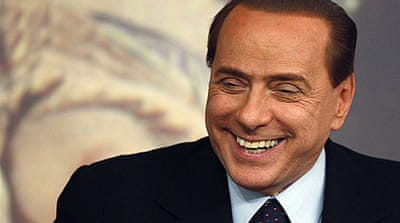 Berlusconi 'not worried' about trial