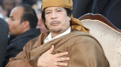 Gaddafi: NATO bombs can't reach me