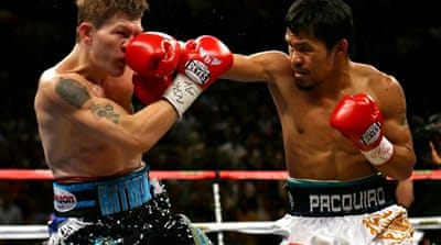 Hatton could claim Pacquiao belt