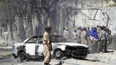 Deadly attack on Somali police base