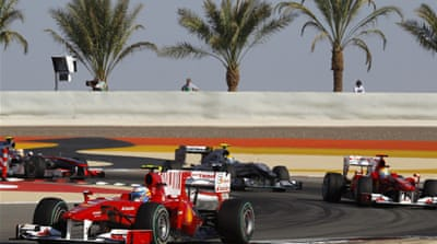 Bahrain cancels Formula One race